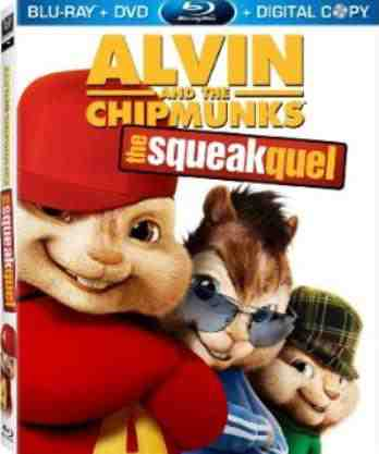 DVD Cover: Alvin and The Chipmunks The Squeakquel