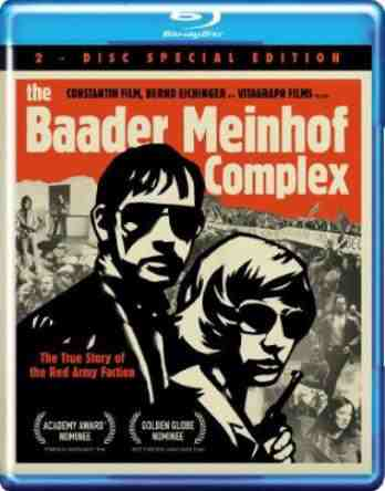 DVD Cover: The Baader Meinhof Complex
