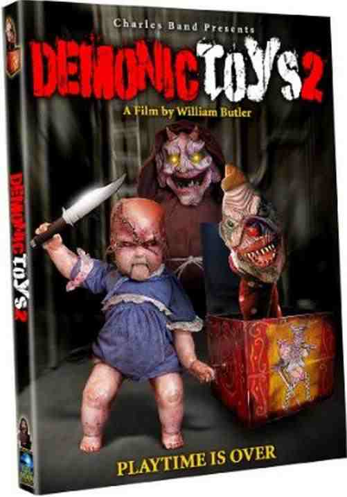 DVD Cover: Demonic Toys 2