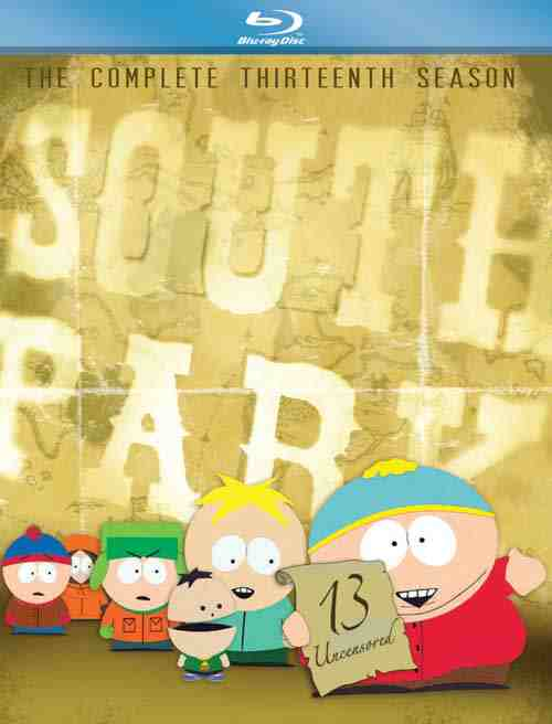 DVD Cover: South Park The Complete 13th Season