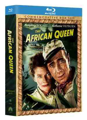 DVD Cover: The African Queen