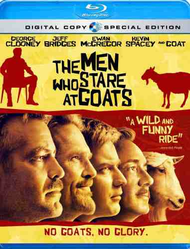DVD Cover: The Men Who Stare at Goats