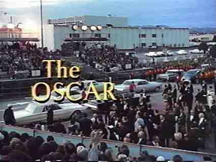 The Oscar Title Screen