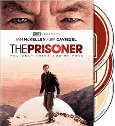 DVD Cover: The Prisoner 2009