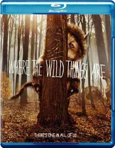 DVD Cover: Where the Wild Things Are