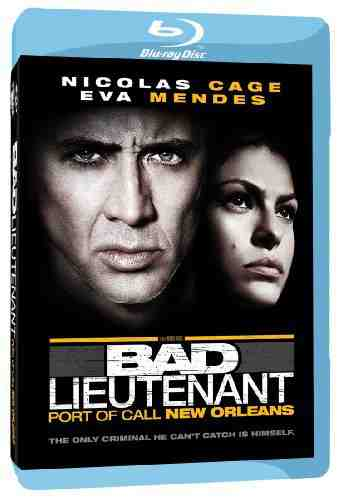 DVD Cover: The Bad Lieutenant Port of Call New Orleans