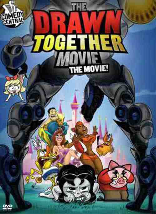 DVD Cover: The Drawn Together Movie The Movie