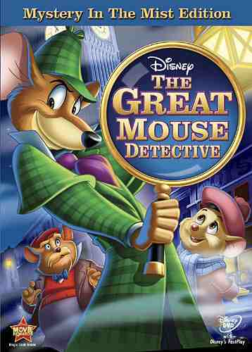 DVD Cover: The Great Mouse Detective