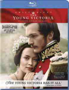 DVD Cover: The Young Victoria