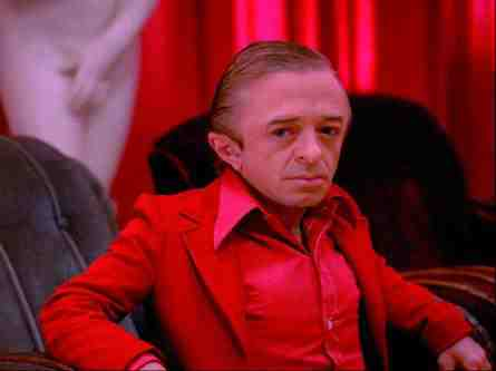 Michael J. Anderson as The Man From Another Place