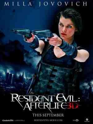 Resident Evil: Afterlife poster
