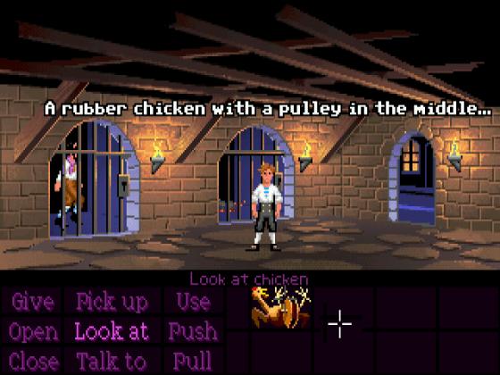 Videogame Still: The Secret of Monkey Island