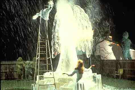 Edward Scissorhands ice dance