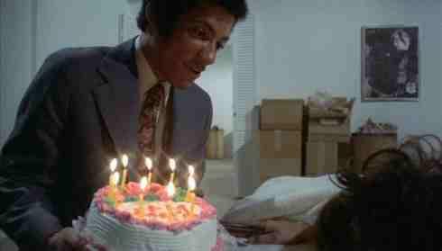 Sisters - Margot Kidder gets Birthday Cake