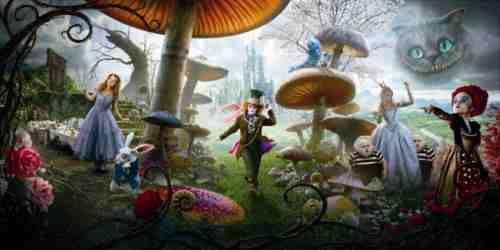 Alice in Wonderland 2010 still
