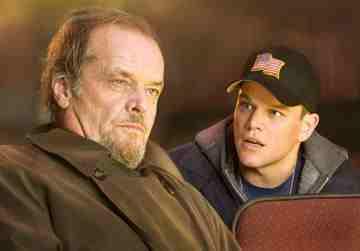 The Departed (2006) - Jack Nicholson and Matt Damon