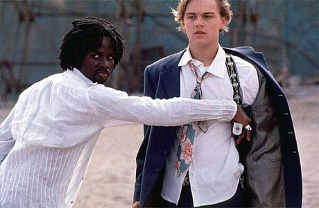 Romeo + Juliet still DiCaprio