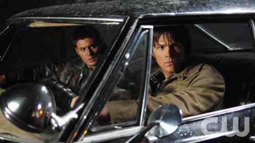 Supernatural Sam Dean car still