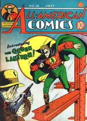 First Green Lantern Comic with Alan Scott