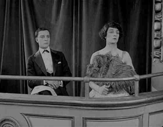 Buster Keaton in The Play House