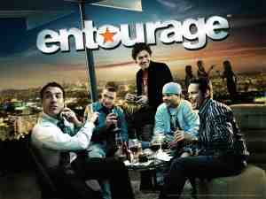 Poster for HBO's Entourage