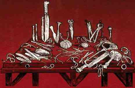 The Medical Equipment from Dead Ringers