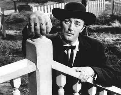 Love And Hate - Robert Mitchum in Night Of The Hunter