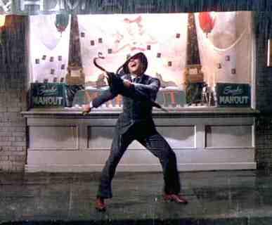 Gene Kelly stars in Singin' In The Rain