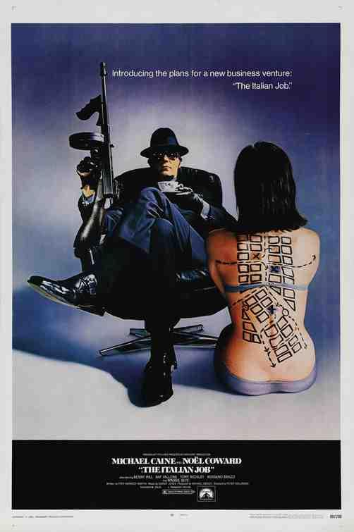 Poster for The Italian Job (1969)
