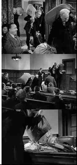 The Mail scene from Miracle on 34th Street