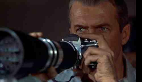 James Stewart stars in Alfred Hitchcock's Rear Window