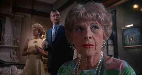 Ruth Gordon and John Cassavetes co-star in Rosemary's Baby