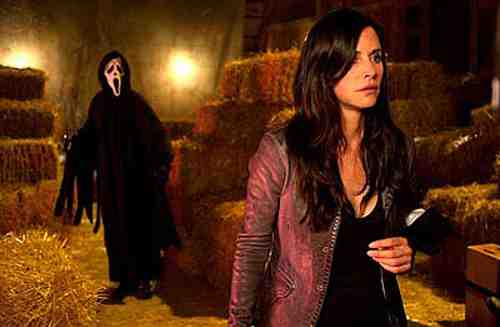 Scream 4 Gale still