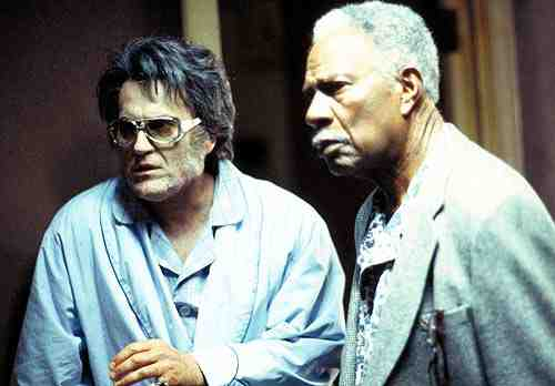 Bruce Campbell and Ossie Davis in Bubba Ho-Tep