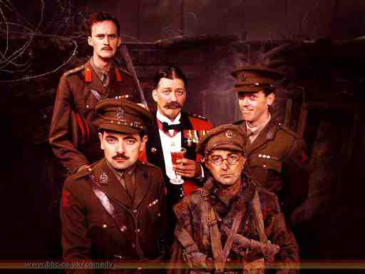 The Cast of Black Adder Goes Fourth