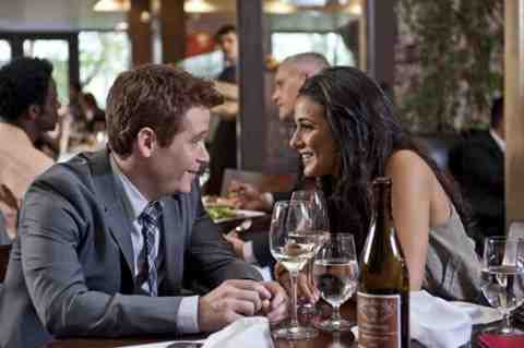 Kevin Connolly as Eric and Emmanuelle Chriqui as Sloan