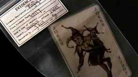 Joker Card from Batman Begins