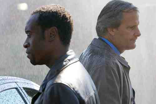 Don Cheadle and Jeff Daniels in Traitor