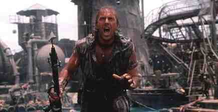 Kevin Costner stars in Waterworld