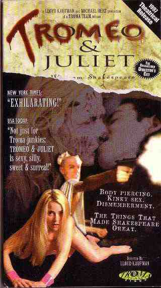 The Poster for Tromeo and Juliet