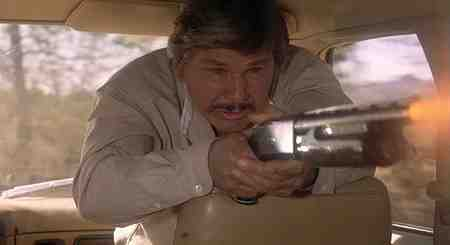 Charles Bronson With Shotgun - The Evil That Men Do
