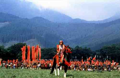 The magnificent staging of Kurosawa's Ran