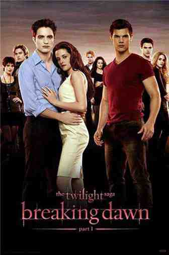 The Poster for Twilight Breaking Dawn Part 1