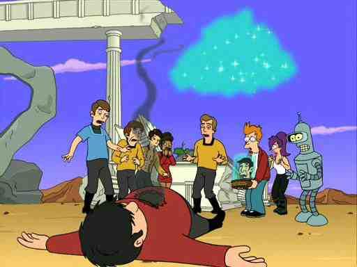 Futurama Star Trek Where No Fan Has Gone Before