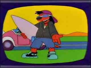 Poochie the Talking Dog from The Simpsons