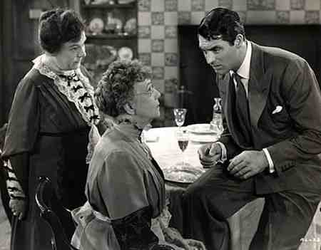 Cary Grant stars as Mortimer Brewster in Arsenic and Old Lace