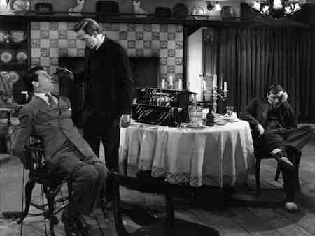 Raymond Massey and Peter Lorre serve up villainy in Capra's Arsenic