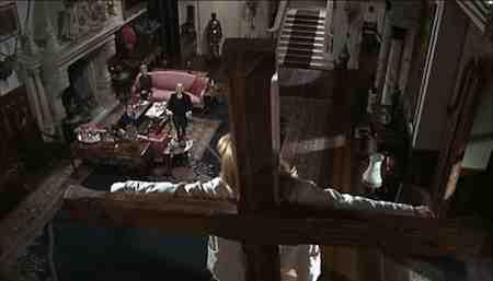 Peter O'Toole as the Christ-like Earl Of Gurney