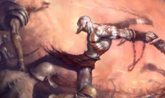 God of War Kratos Art
