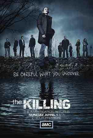 Poster for The Killing Season 2